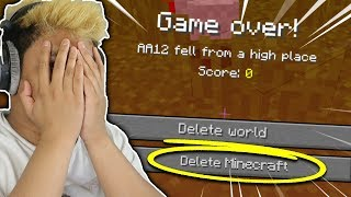I QUIT Minecraft because of this...