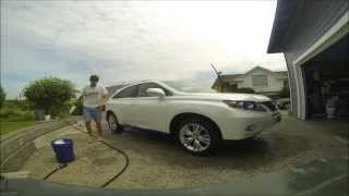 How to wash your car in under 30 seconds