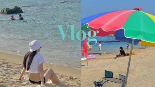 [Vlog] 늦은여름휴가2!!!  /데일리룩,그로브스토…