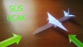 Kağıttan Yolcu Uçağı Yapımı