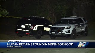 Human remains found in Elmwood Place