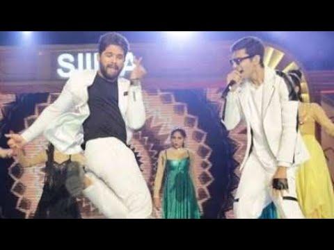 Allu Arjun SIIMA Award Dance HD