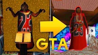GRANNY GTA MOD! NEW SECRET ROOM AND NEW PET SPIDER! - Granny