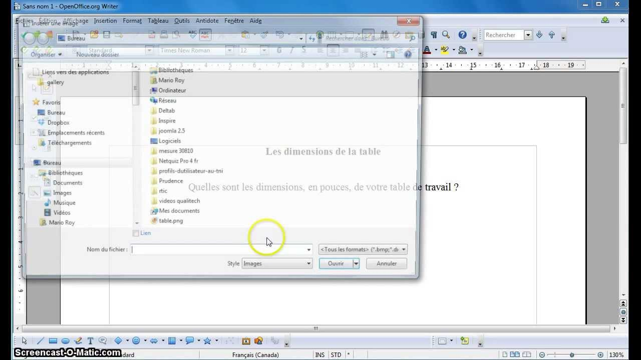 Tutoriel open office comment cr er un fichier pdf - Realiser un organigramme open office ...