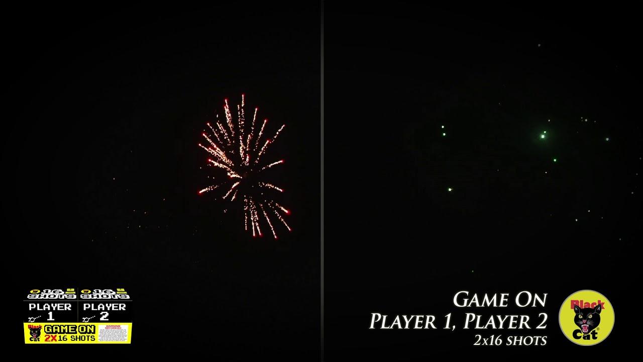 Game On - Black Cat Fireworks