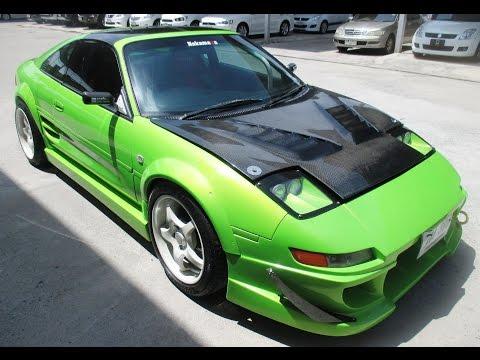 ขายรถเก๋ง มือสอง ราคาถูก ยี่ห้อ TOYOTA (โตโยต้า เอ็มอาร์ทู) รุ่น MR2 สีเขียว ปี 2011