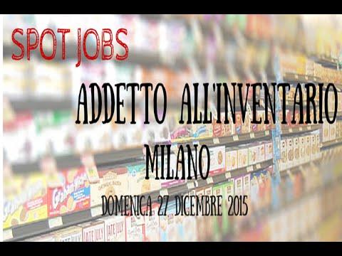 Spot Jobs - Lavoro occasionale a Milano 27/12/2015