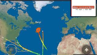 Roblox Atlantic Hurricane Simulator | Hurricane Watch