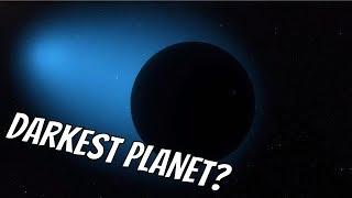 Darkest Planet in the Galaxy (WASP-12b)