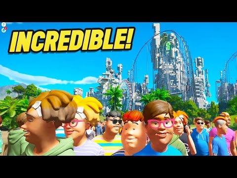 Planet Coaster Creations : THE MOST INCREDIBLE CREATION EVER!