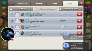 My Clash of Clans Stream join with me