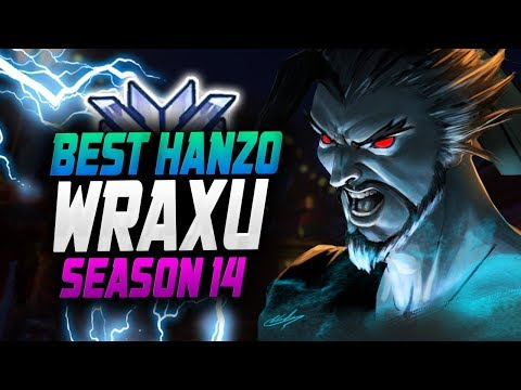 HANZO Dominating Season 14 - WRAXU! [ OVERWATCH SEASON 14 TOP 500 thumbnail