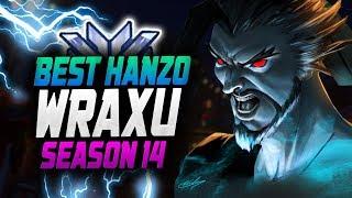 HANZO Dominating Season 14 - WRAXU! [ OVERWATCH SEASON 14 TOP 500