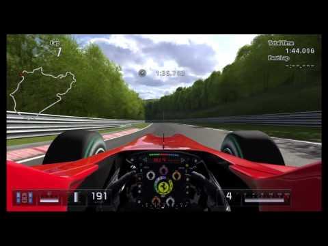 Gran Turismo 5 Nurburgring Ferrari F10