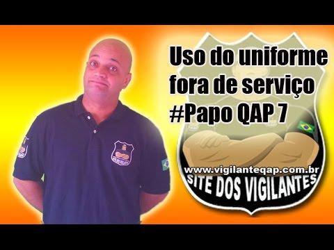 Uso de uniforme fora de serviço - Papo QAP 7 - YouTube b1621f6b3e643