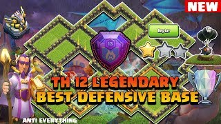 UNBEATABLE TH 11 Defense & Trophy Base 2018 With Reply Proof anti 0 star | anti 1 star| anti lava