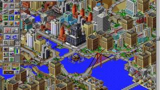 CGRoverboard SIM CITY 2000 for PC Video Game Review