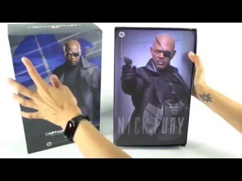 osw.zone We tried out Facebook Live and unboxed the Hot Toys Nick Fury Sixth Scale Figur...