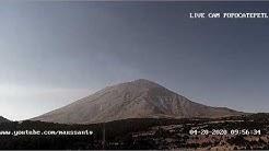 Transmisión en directo de LIVE CAM POPOCATEPETL