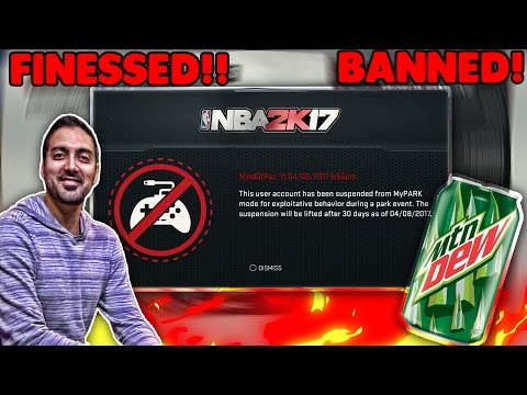 RONNIE 2K BANNED ME WTF!!! I DID NOTHING WRONG IN NBA 2K17! @RONNIE2K  HATES YOUTUBERS! EXPOSED!