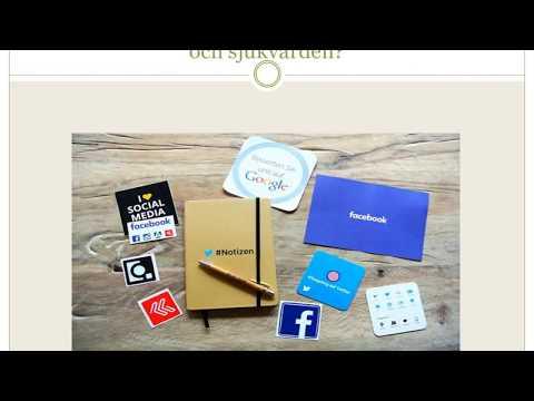 Sociala medier inom hälso- och sjukvården // Sharon