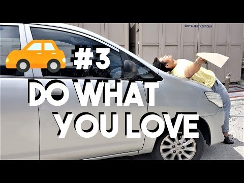 Car Chat #3: Do what you love to do | Being Creative