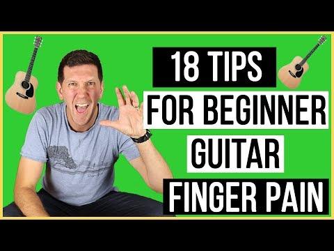 How To Toughen Up Your Fingertips - 18 Tips For Beginner Guitar Finger Pain (2019)