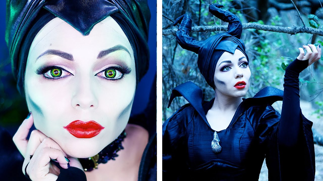 Maleficent makeup transformation charisma star youtube baditri Gallery