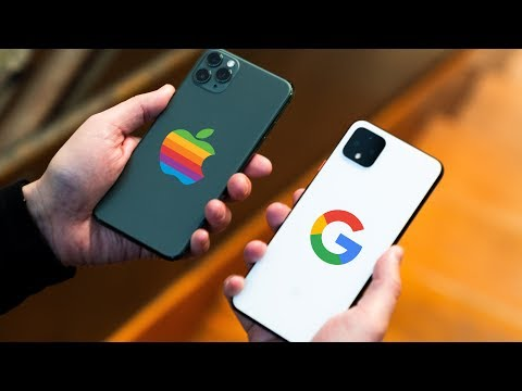 iPhone 11 Pro vs Pixel 4: GAME OVER