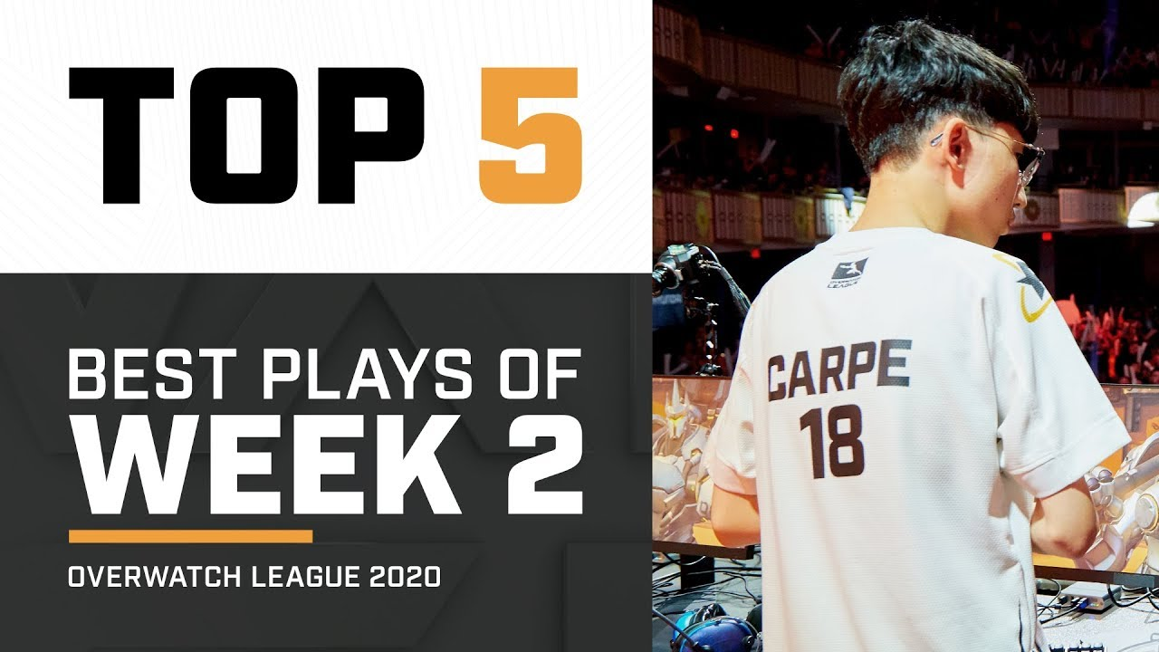 Best Plays of Week 2 | Overwatch League 2020 thumbnail