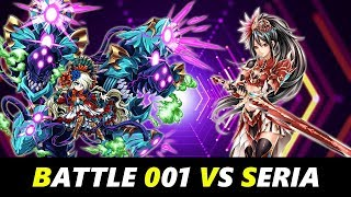 Brave Frontier Strategy Zone : Battle 001 - Seria (No Auspicious Oranges,  No Limited Unit)