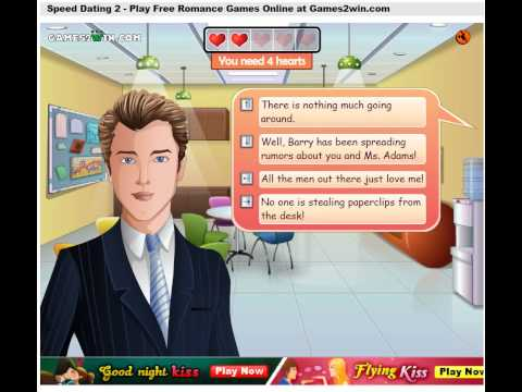 Play speed dating game