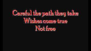 Children will listen - Into the woods (With lyrics)
