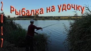 рыбалка с берега,на поплавочную удочку