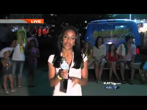 Kid Kisses News Reporter on Live Broadcast!!