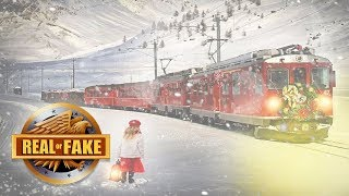 VIDEO OF REAL POLAR EXPRESS - Real or Fake?