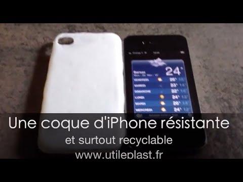 Fabriquer une coque d'iPhone® de façon simple et recyclable?