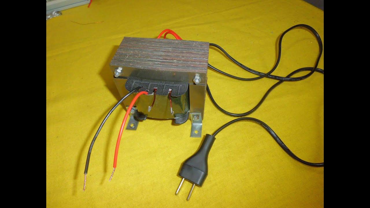 Como hacer y calcular un transformador paso a paso youtube - Transformador 220v a 12v ...