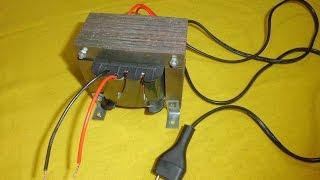 Como hacer y calcular un transformador (paso a paso)