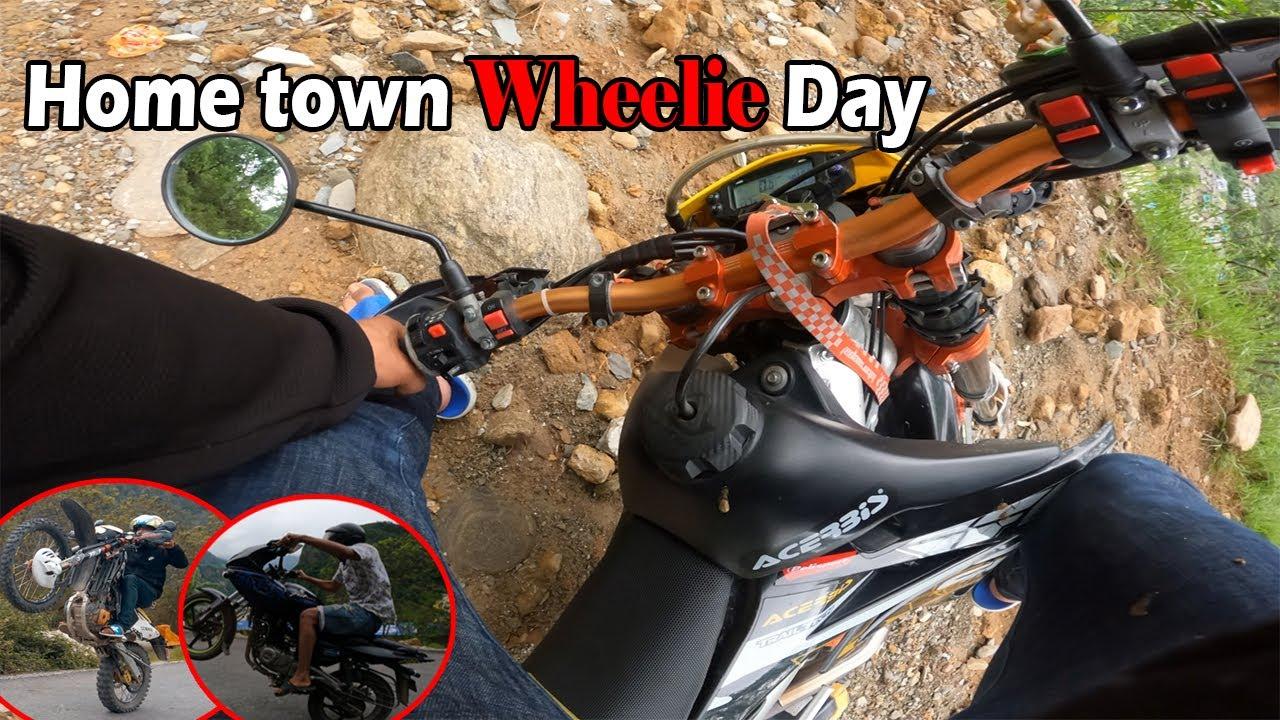 Home Town wheelie Vlog    CX vs 220F    MRB Vlogs
