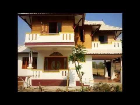 บ้านสองชั้นครึ่งปูนครึ่งไม้ BP06  ชัยภูมิ