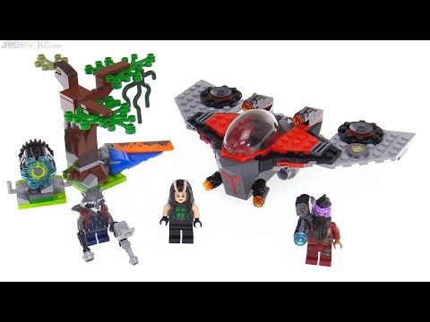 LEGO Marvel Guardians of the Galaxy vol. 2 Ravager Attack review! 76079