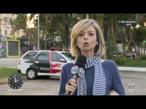Acidentes de trânsito deixam 3 mortos e pelo menos 10 feridos em SP - SBT Notícias (10/07/17)