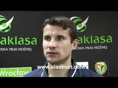 T. Szewczuk po meczu Śląsk - GKS Bełchatów (2011.05.14)