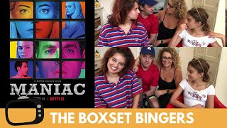 Maniac (Netflix TV Series – Emma Stone, Jonah Hill) – Nadia Sawalha & Family Reaction & Review