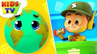 Keep Our Planet Clean | The Supremes Cartoons | Children Songs & Baby Rhymes - Kids TV