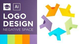 Negative Space Logo Design Tutorial | Adobe Illustrator