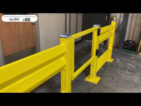 Warehouse Guardrails for Protecting Equipment and People
