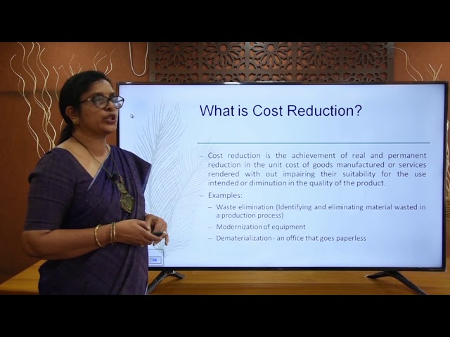 Introduction to cost accounting, objectives methods of costing