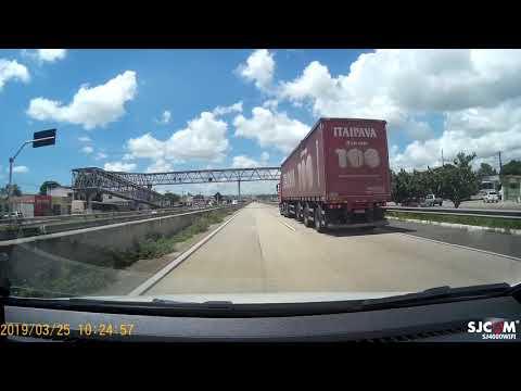 Viagem ao Nordeste 2019 (SE x AL x PB x RN) Parte 37 - BR 101 perto de Goianinha